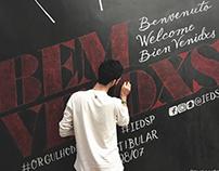 Bem Vindxs - Chalk Lettering