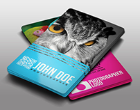20 Photography Business Card Free Psd Download Template