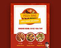 free pizza brochure templates