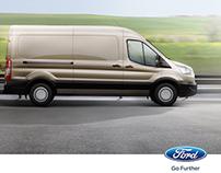 Ford Transit Van Önden Çeker Lansman İlanı