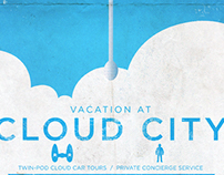 Star Wars, Cloud City travel poster