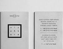 Siyah Kare Card