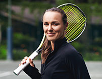 Tonic Active Tennis by Martina Hingis SS17 Campaign
