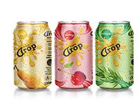 Design tin cans Fresh Drop (Simaga)