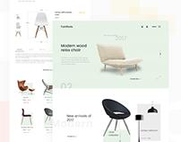 Furniture. minimal web