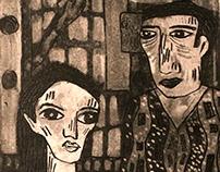 intaglio 2013  printmaking