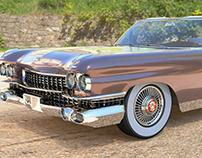 Cadillac Eldorado 1959 3D Model