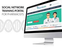 Responsive Interface Design for Pharmaceutical Portal