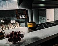 Render Kitchen Scene