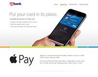 Apple Pay I Samsung Pay Microsite