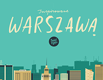 illustrations for plażowa | bar & restaurant | warsaw