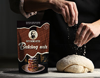 Packaging design for GGK - Baking Mix