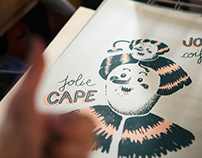 Jolie jolie - Sérigraphie