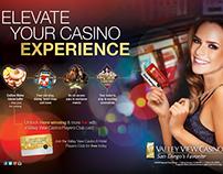 Valley View Casino & Hotel - HTML, CSS, ASP.NET