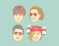 5 Second Of Summer: Cocktail Chats Series: Fanart