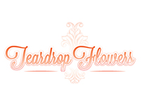 Teardrop Flower Logo