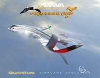 "AWWA·QG ""Progress Eagle"" Quantum Airplane"