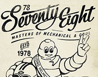 Poster Ad for 78 Seventy Eight Motor Co ®ARM