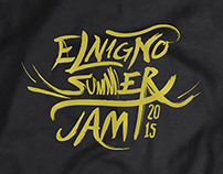 ElNigno Summer jam - T-Shirt and lettering