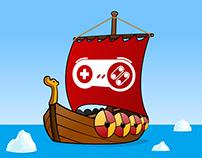GÄMERHÖK - Youtube Channel Logo and Animation