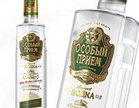 """Vodka """"Особый Прием"""""""