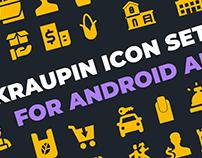 Иконки для приложения на Android.