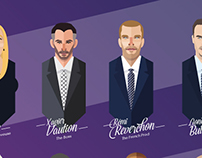NBA-Extra (French TV) on Bein Sports / Illustration