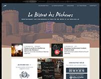 Website for Le Bistrot des Pêcheurs