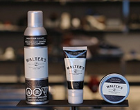 Walter's Shoe Care Packaging