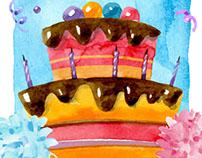 Doğum Günü Davetiyesi - 2016