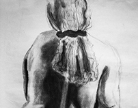 """Sitting"" - Figure Drawing"