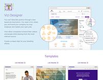 Recruiting app for desktop + promotion website