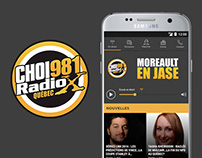 CHOI Radio X app