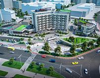 Territory development. Urban Competition (2 prize)