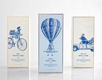 Paris Baguette Packaging Illustrations