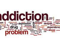 Addiction tag cloud