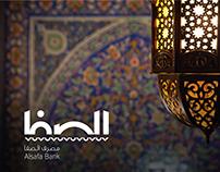 Alsafa Bank Logo, Creative Concept