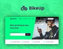 BikeUp - Website & Branding