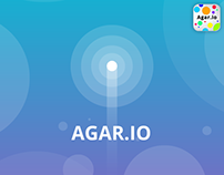 Agar-io - UI, Promo and Icon Concepts
