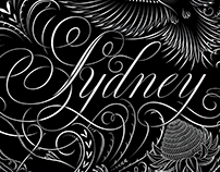 'Sydney' for Piece Out