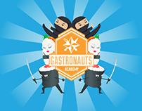 Gastronauts Academy Print & Social Content
