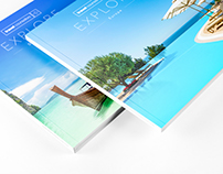 Travel Product Brochure Design