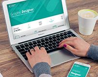 Graphic Designer - responsive portfolio