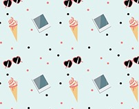 Illustration - Summer pattern & things