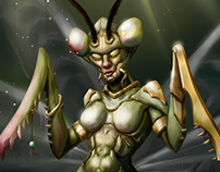 Mantis Warrior