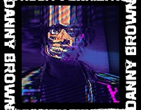 "Danny Brown ""Atrocity Exhibition"" visual campaign"