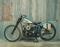 Harley KR Blue Goose