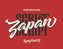 Zapan Script - Free Demo Font