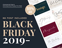 BLACK FRIDAY SALE 2019