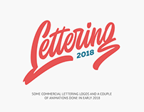 Lettering logos and animations 2018 vol. 2